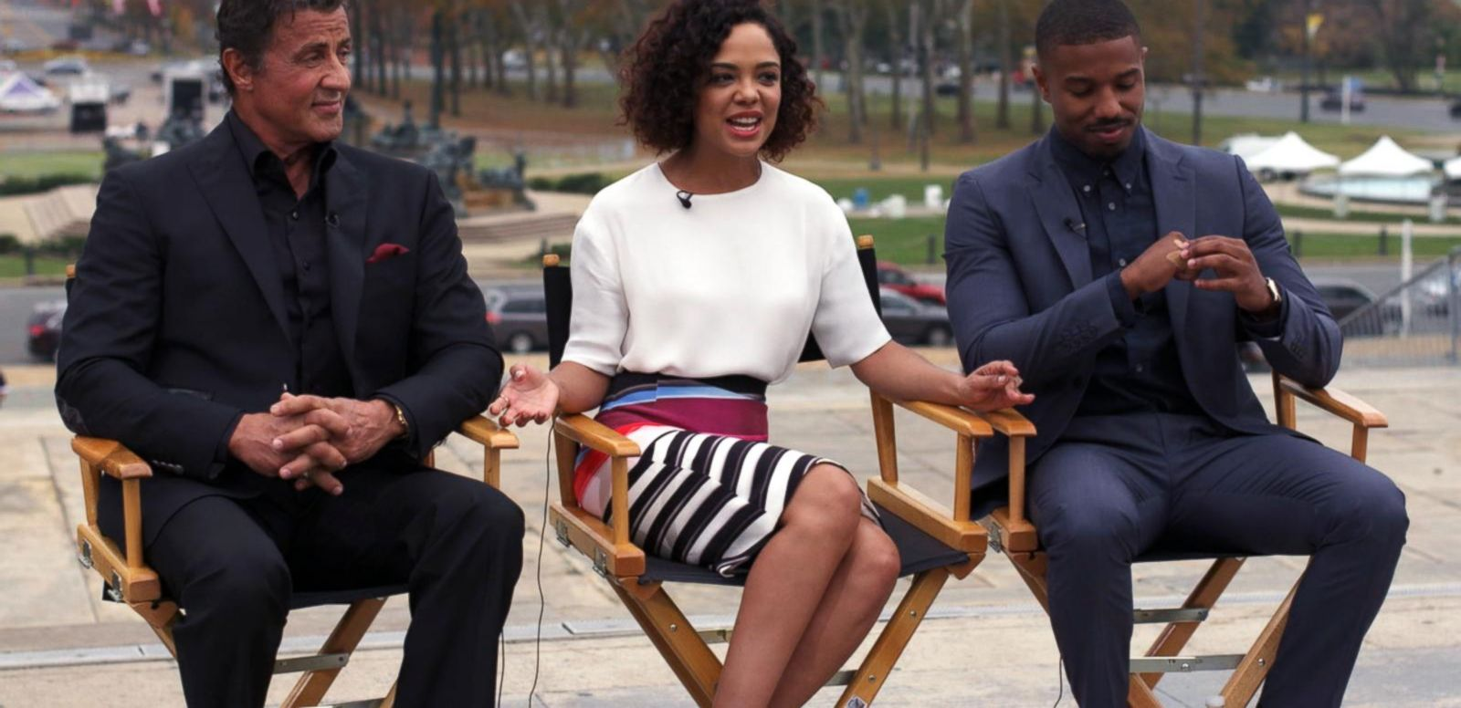 VIDEO: On Location With the Stars of 'Creed'