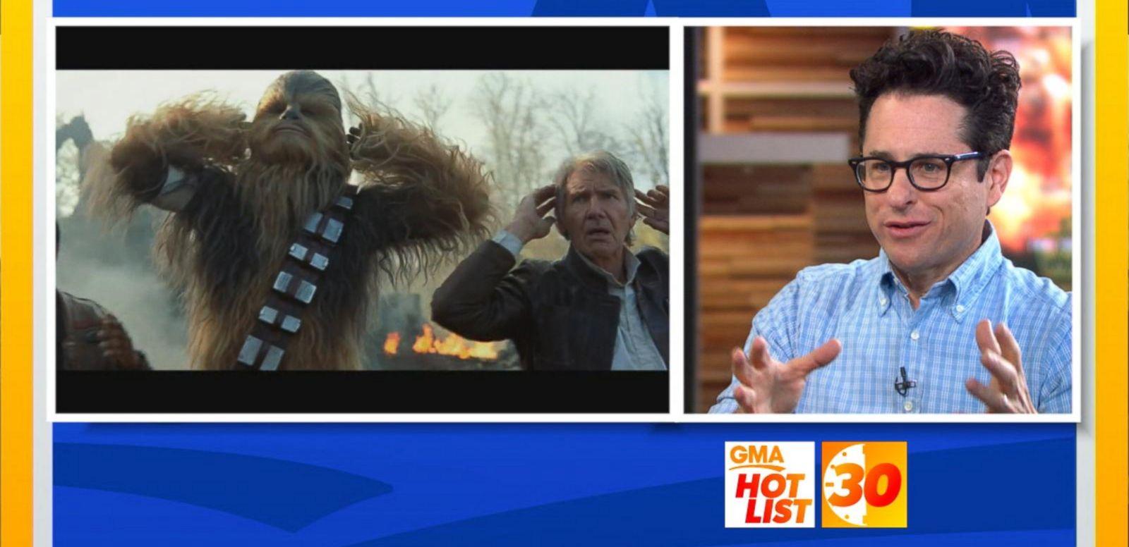 VIDEO: 'GMA' Hot List: J.J. Abrams Talks 'Star Wars: The Force Awakens'