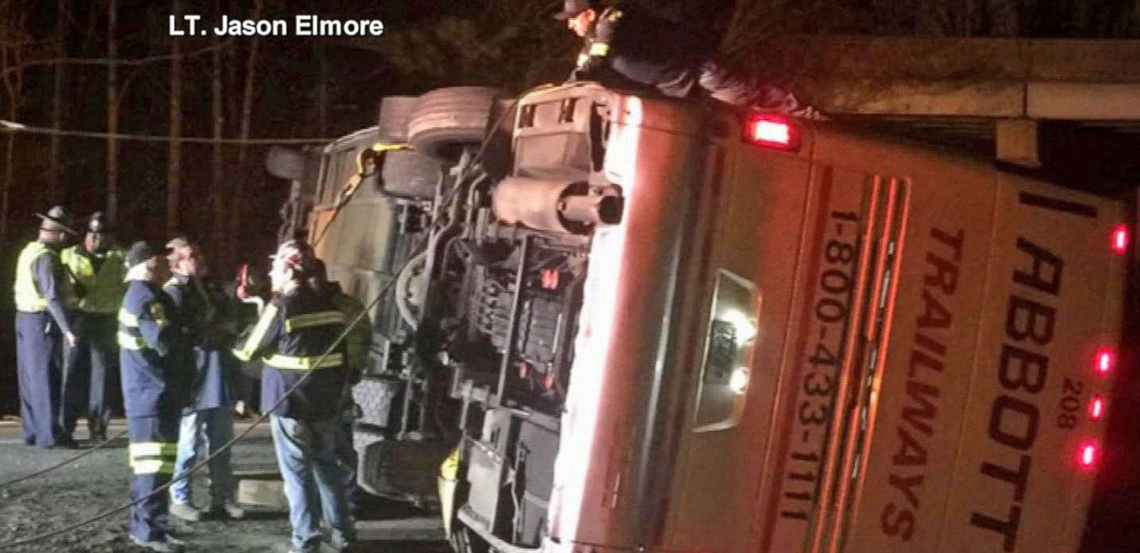 VIDEO: Dozens of College Students Injured in Virginia Bus Crash