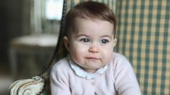 VIDEO: Adorable New Photos of Princess Charlotte Released