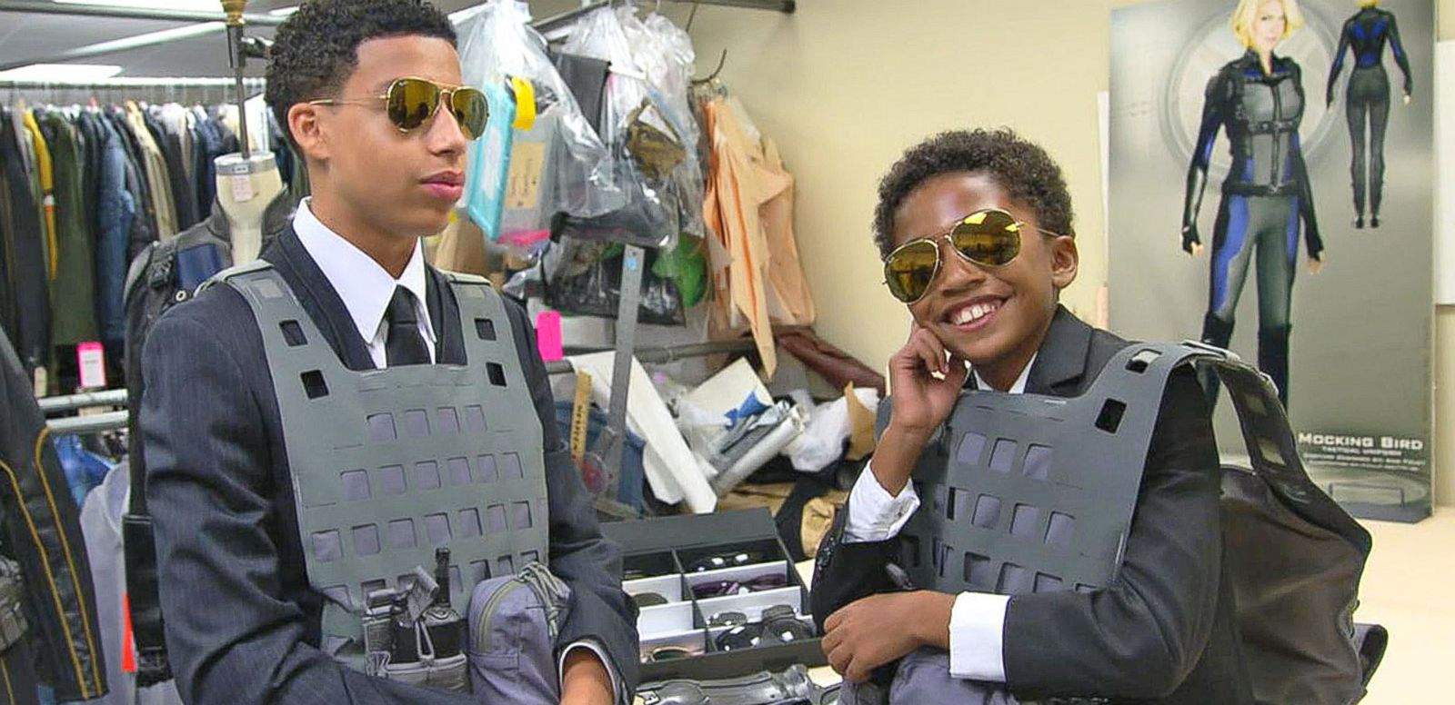 VIDEO: Stars of 'Black-ish' Visit the 'Agents of S.H.I.E.L.D.' Set