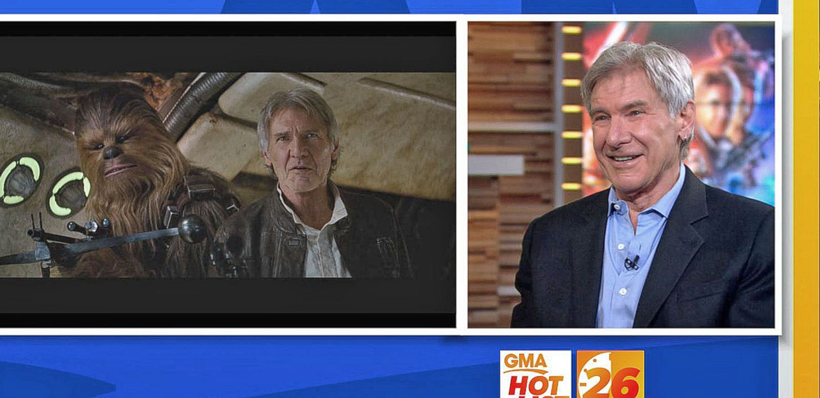 VIDEO: 'GMA' Hot List: Harrison Ford on Returning as Han Solo in 'Star Wars'