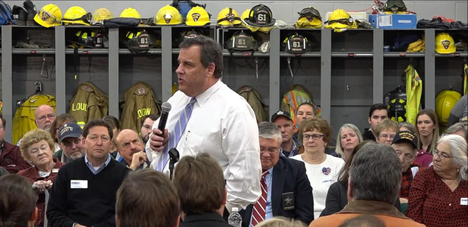 VIDEO: Chris Christie Takes on Donald Trump
