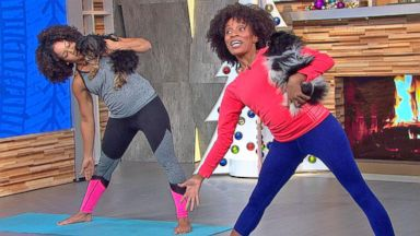 VIDEO: Dog Yoga Is the Paw-fect New Workout for You and Your Pup