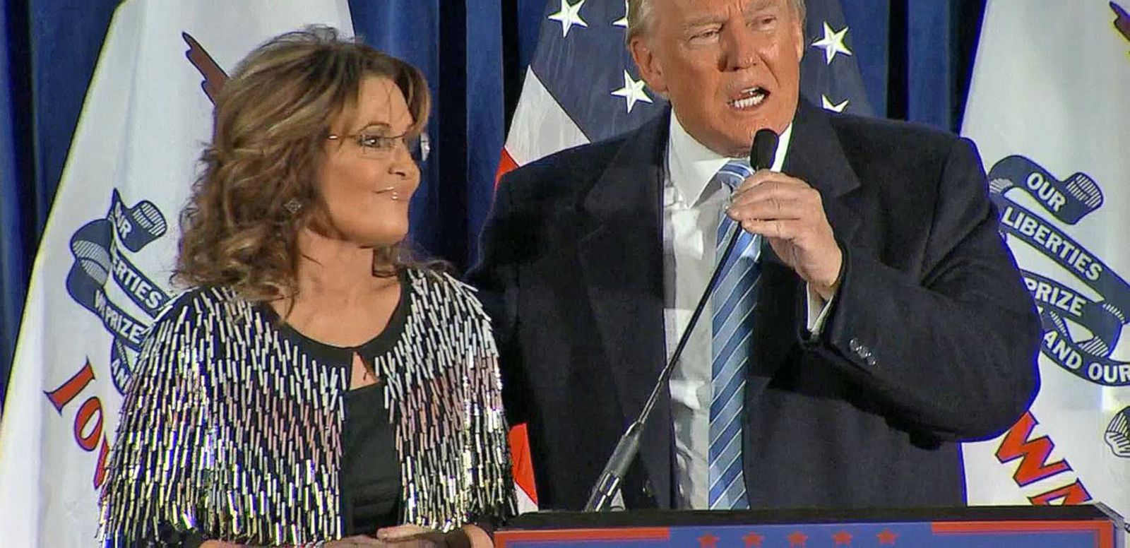 VIDEO: Sarah Palin Endorses Donald Trump for President