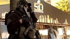 VIDEO: GMA 02/04/16: Law Enforcement on High Alert for Super Bowl 50