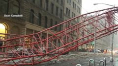 VIDEO: Massive Crane Collapses in NYC