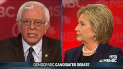 VIDEO: Bernie Sanders and Hillary Clinton Face Off at New Hampshire Debate