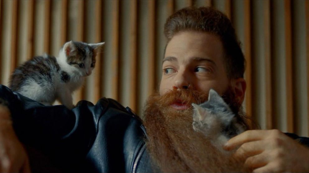 VIDEO: The commercial for mens grooming products celebrates individuality in its Super Bowl 50 commercial.