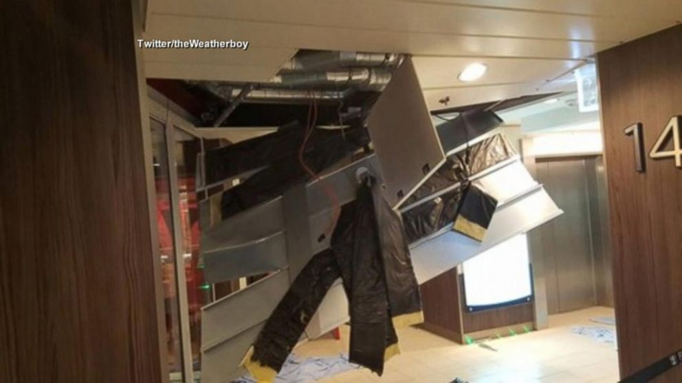 Bahamas Bound Cruise Ship Caught In Hurricane Force Winds