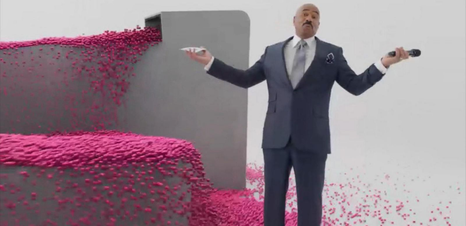 VIDEO: Behind the Scenes of Steve Harvey's Super Bowl Ad