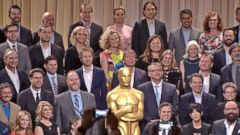 VIDEO: Oscars Countdown: Stars Gather at Pre-Show Lunch