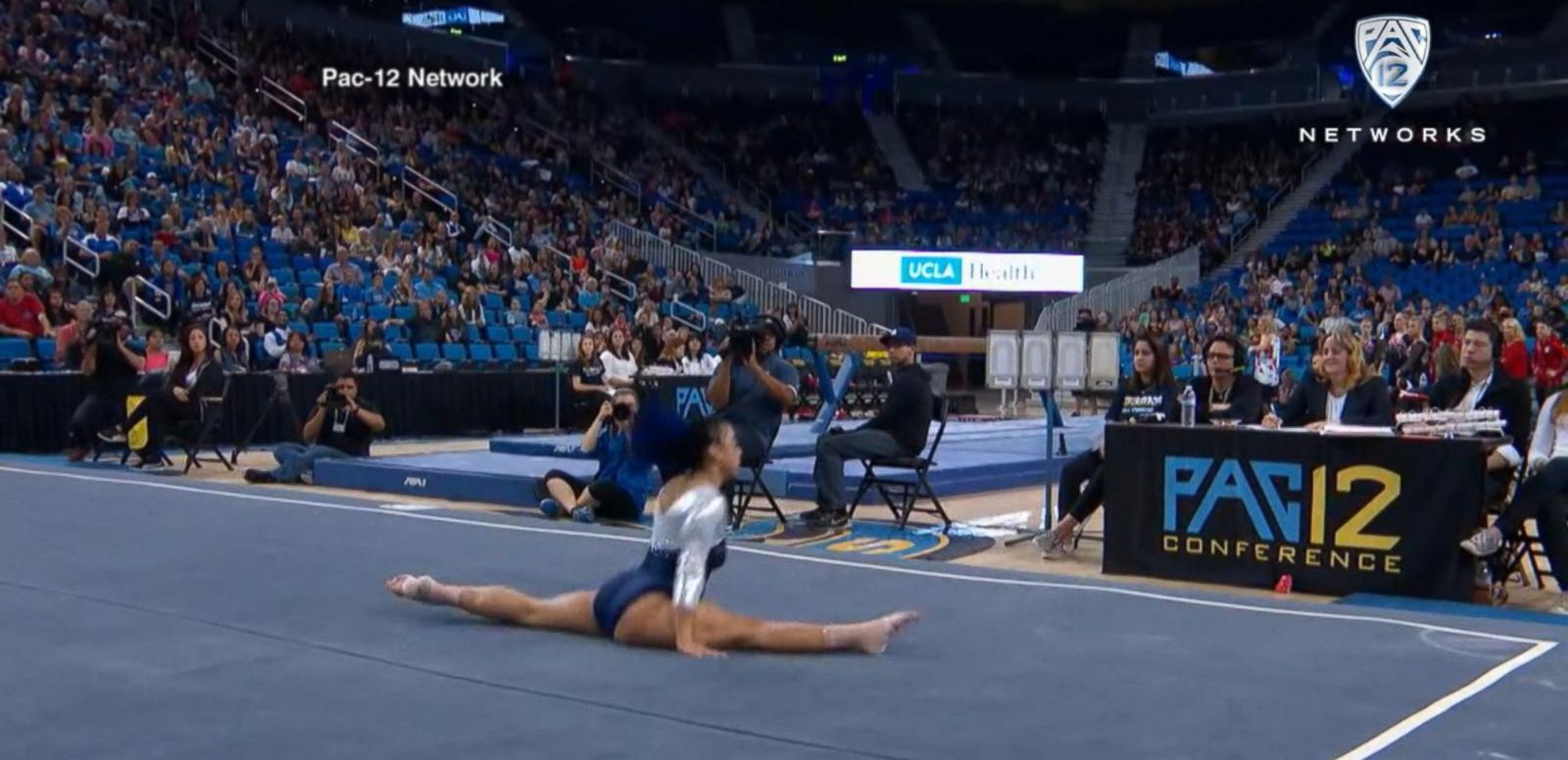 VIDEO: UCLA Gymnast's Floor Routine Goes Viral