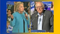 VIDEO: Hillary Clinton and Bernie Sanders Make Final Push for New Hampshire Voters