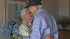 VIDEO: For the first time in over 70 years, Norwood Thomas, 93, came face-to-face with Joyce Durrant Morris, 88, his long-lost first love.