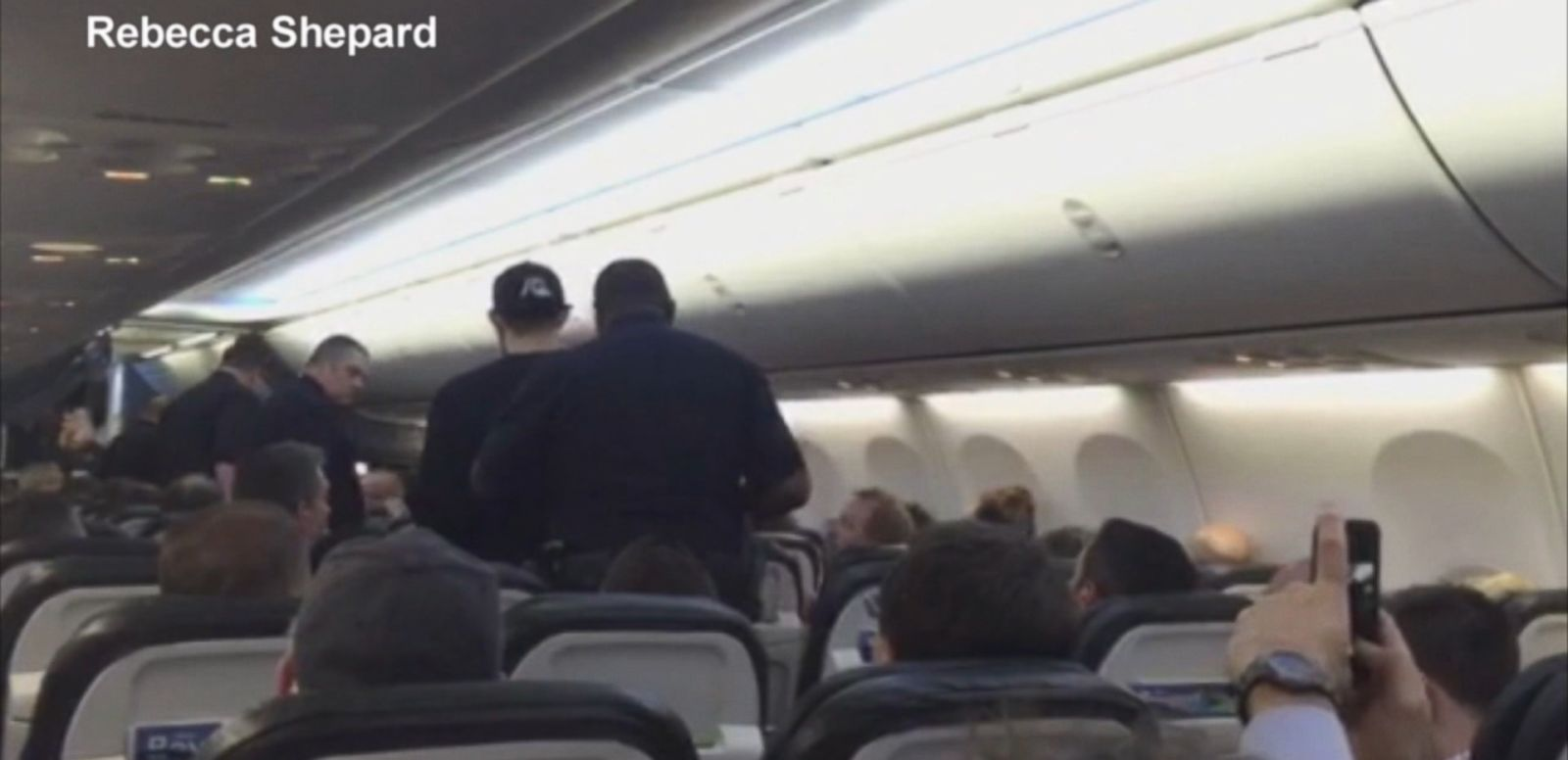 "VIDEO: Passengers aboard the Alaska Airlines flight say that a man was yelling, ""We're going to die."""