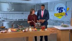 VIDEO: Gail Simmons Takes GMAs $5 Dinner Challenge