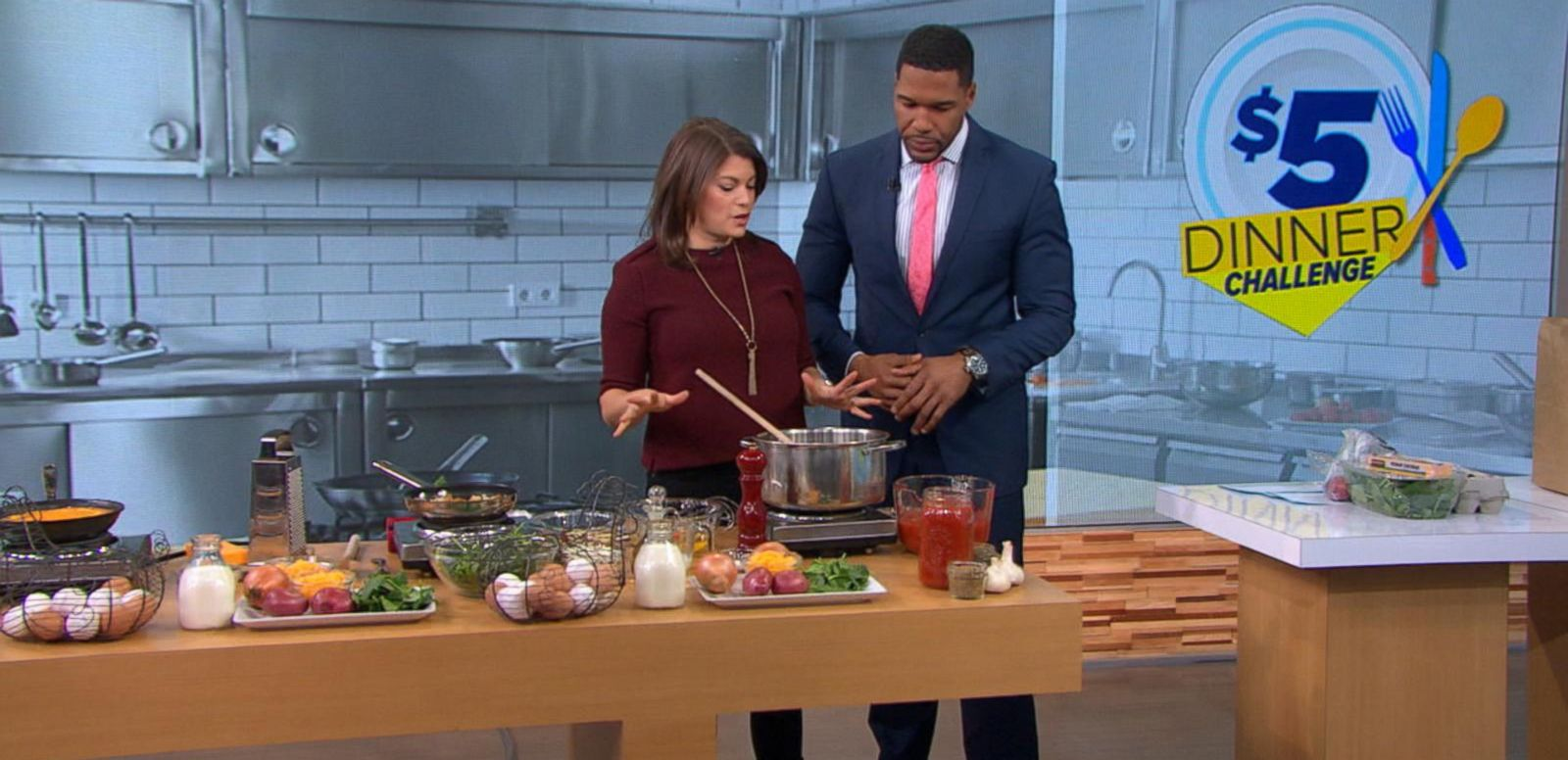 VIDEO: Gail Simmons Takes 'GMA's' $5 Dinner Challenge