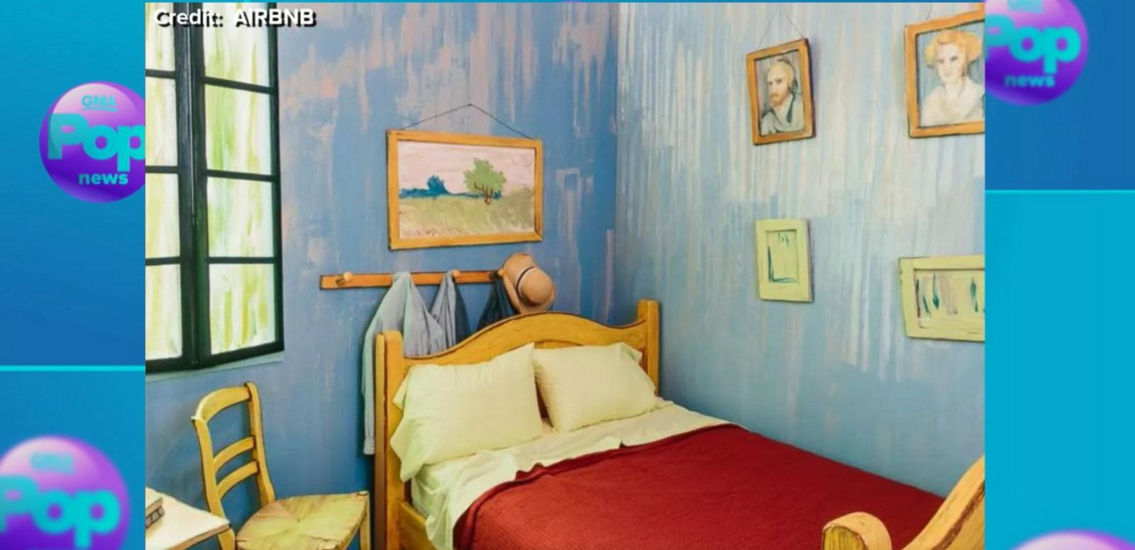 VIDEO: Visit Van Gogh's Yellow House Room Recreation in Real Life