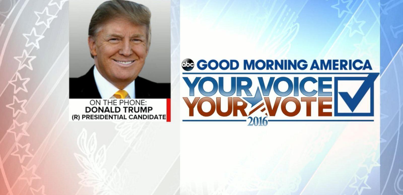 VIDEO: Donald Trump Discusses 2016 New Hampshire Primary Win