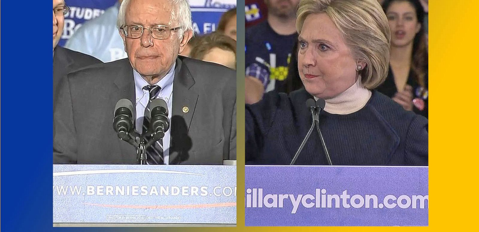 VIDEO: Bernie Sanders Secures Victory Over Hillary Clinton in New Hampshire