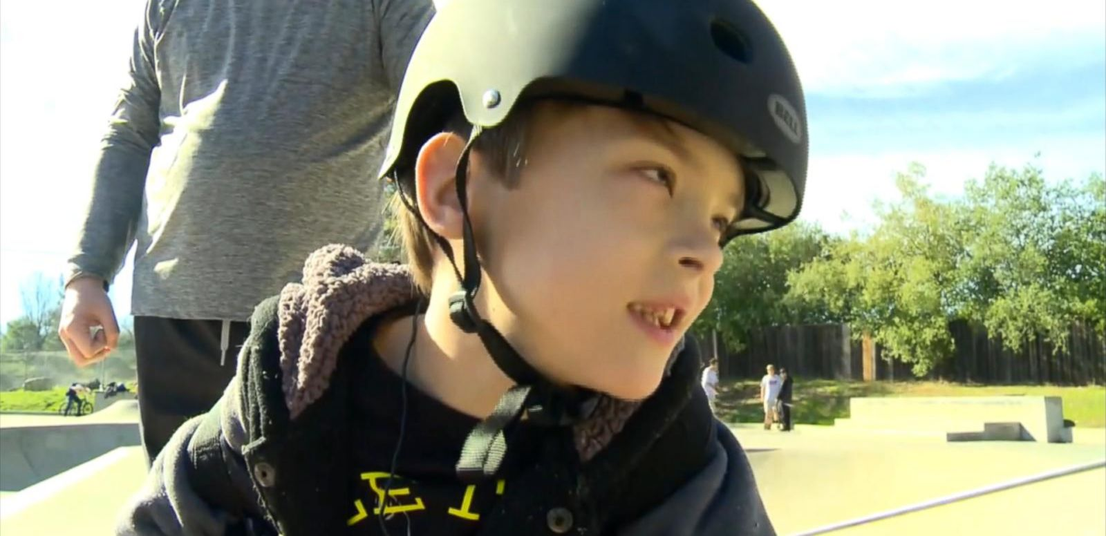 VIDEO: Atticus Edmunds, 8, didn't let being in a wheelchair slow him down.