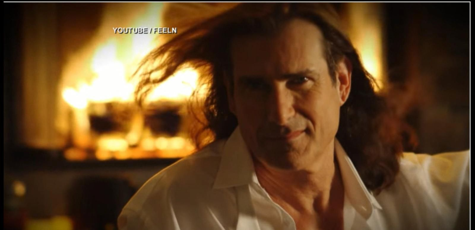 VIDEO: You Can Cuddle Up with Fabio in Front of a Fire with Champagne on Valentine's Day