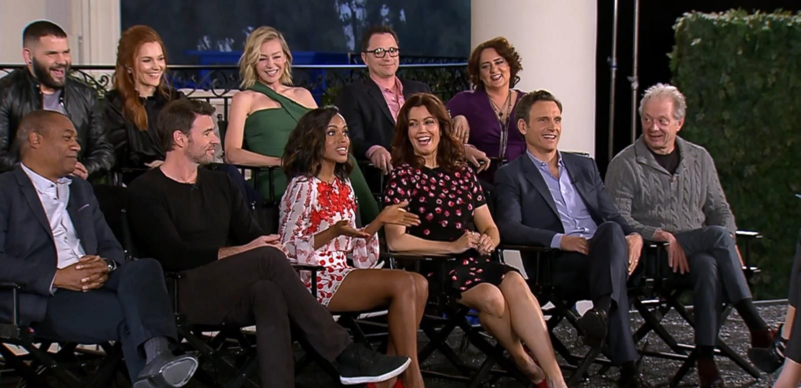 VIDEO: 'GMA' Catches Up With the Cast of 'Scandal' Live