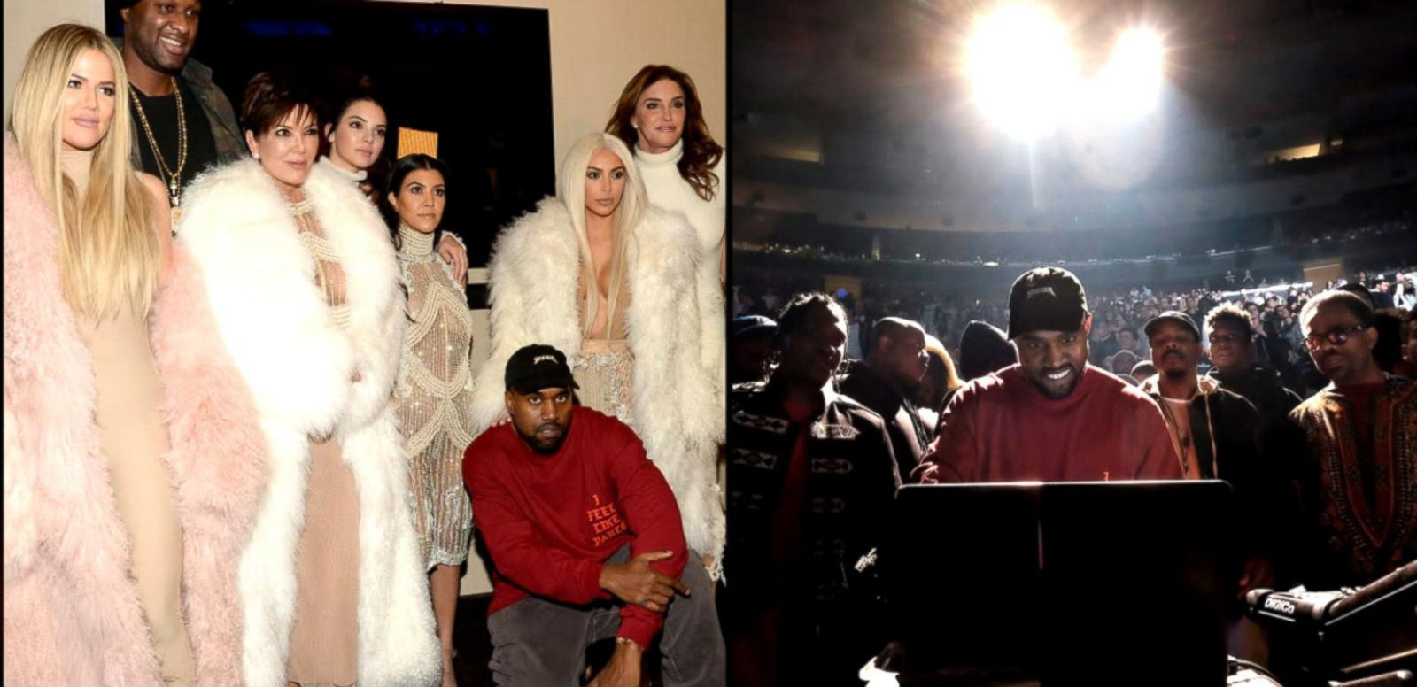 VIDEO: Lamar Odom Steps Out for Kanye West's Album Launch