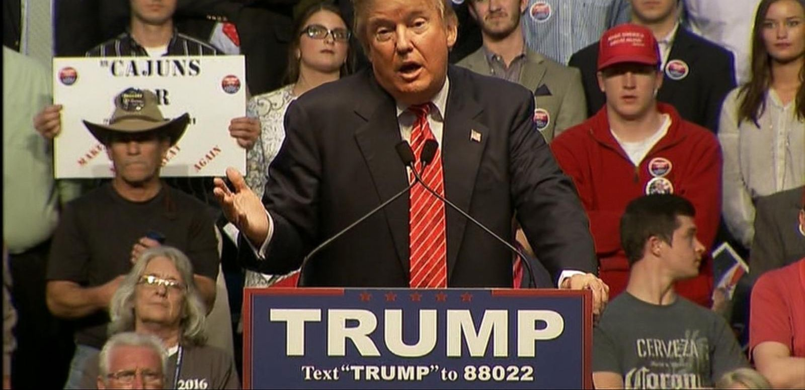 VIDEO: Donald Trump Takes Gentler Approach in Presidential Campaign