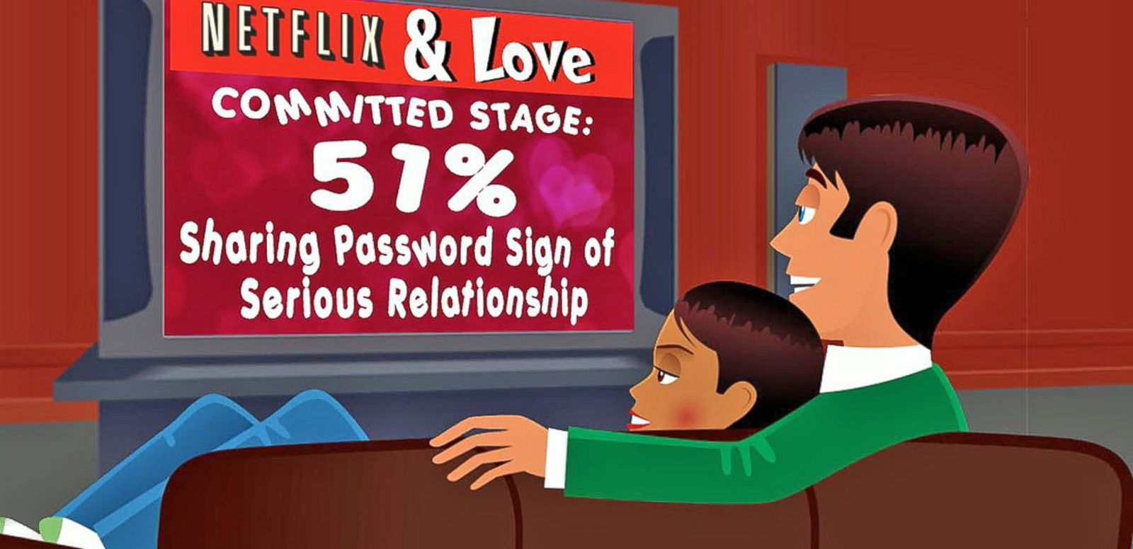 VIDEO: Netflix Could Be Big Asset for Your Online Dating Profile