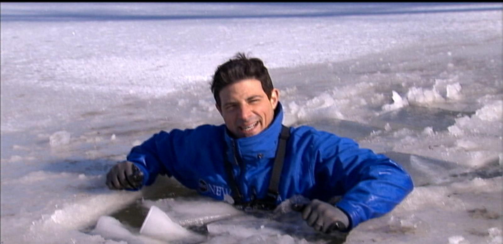 VIDEO: How to Survive Falling Through Ice