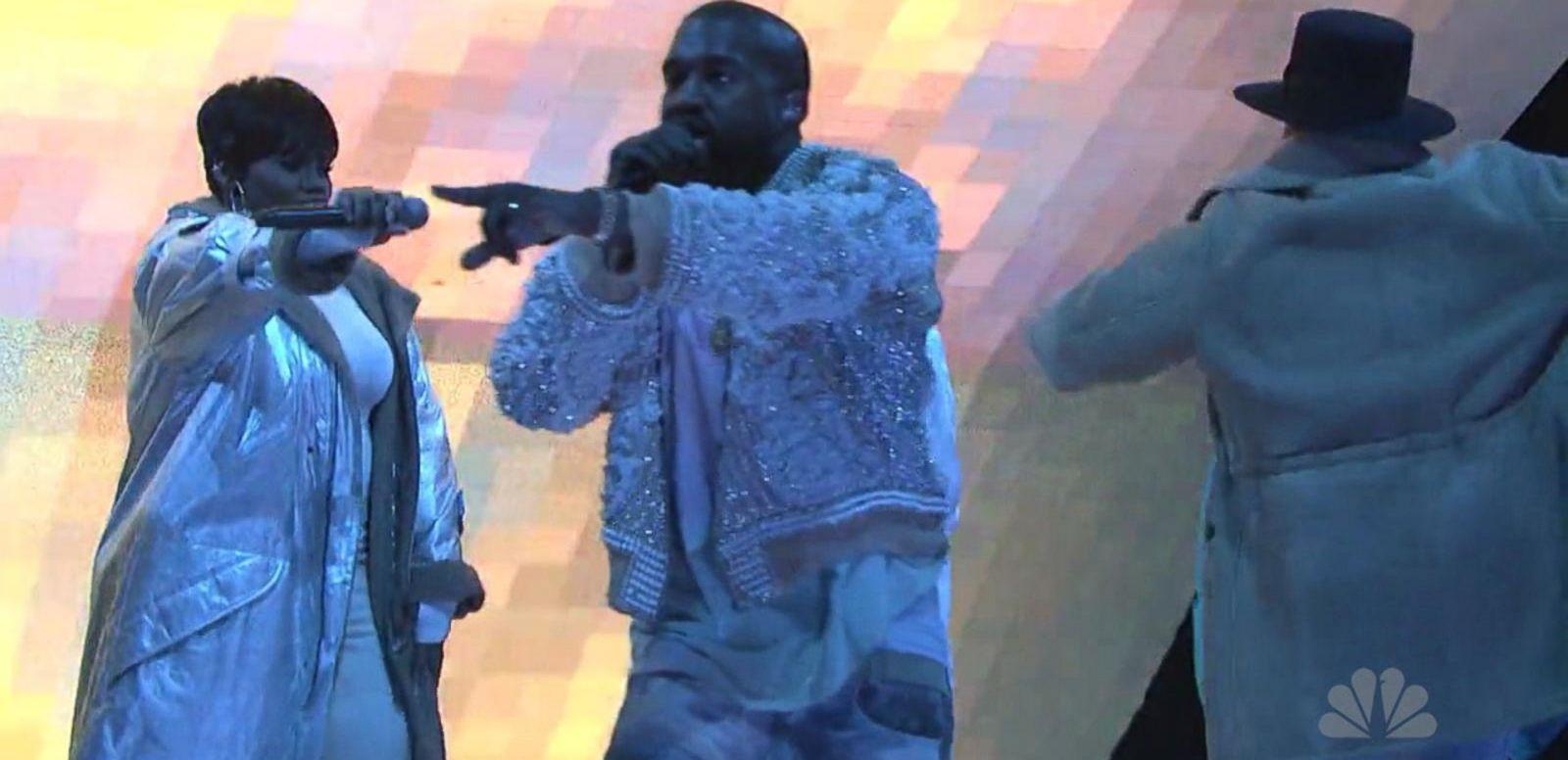 VIDEO: Kanye West Caught Having Saturday Night Live Meltdown