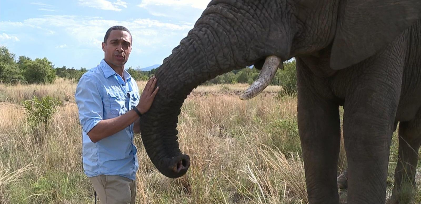 VIDEO: GMA on Safari: Training Elephants to Track Poachers