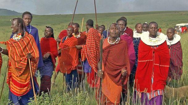 New ESl lesson plans - 'GMA' on Safari: Witnessing a Maasai Wedding
