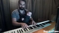 VIDEO: Dads Piano-Playing Lullaby Soothes Baby Boy to Sleep