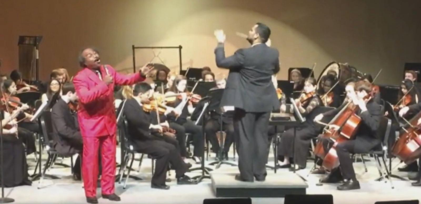 """VIDEO: Roy Smith, a custodian at Burke High School in Omaha, Nebraska, sings Sam Cookes """"Change is Gonna Come."""""""