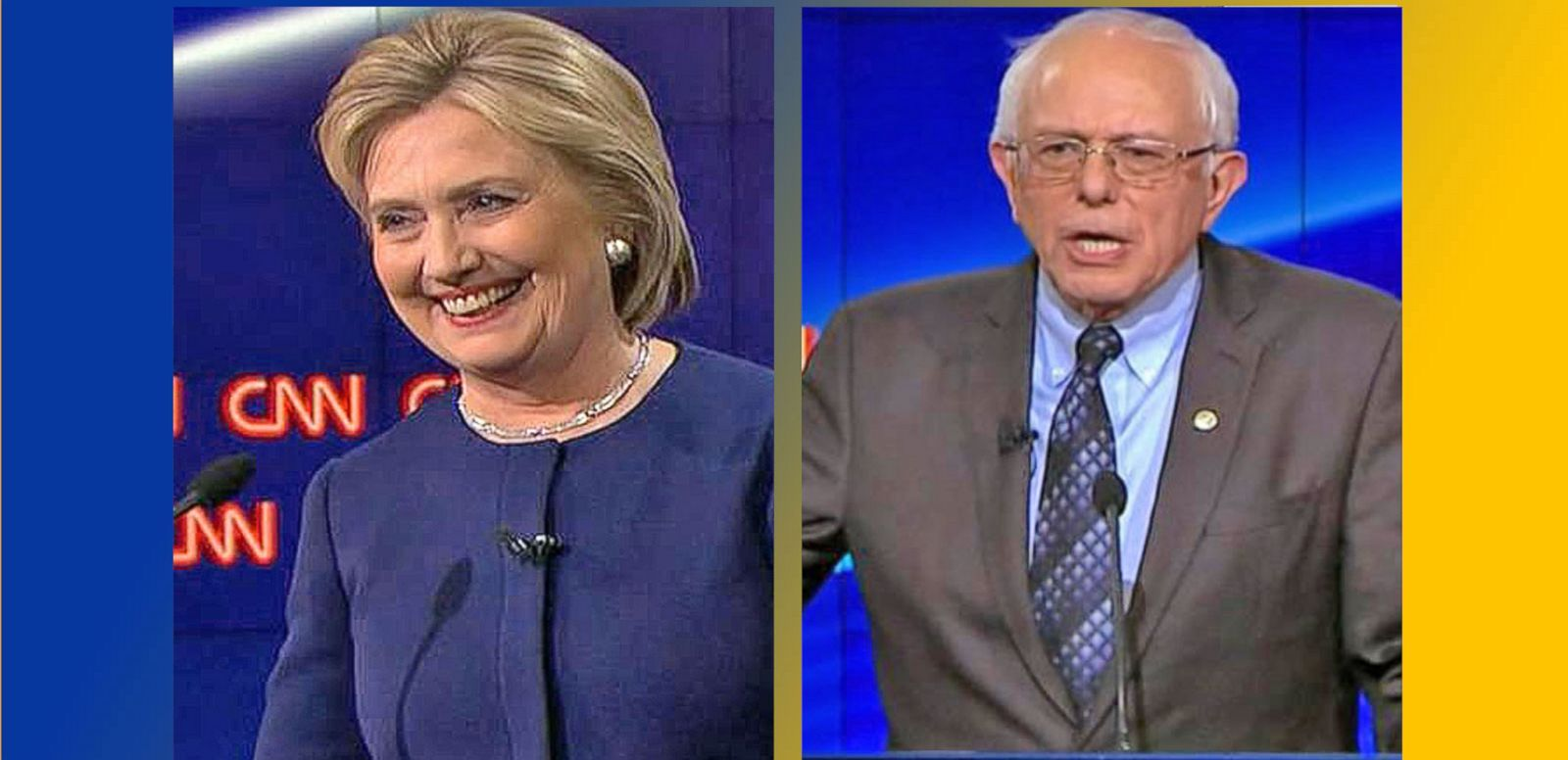 VIDEO: Hillary Clinton, Bernie Sanders Face Off in Fiery Debate