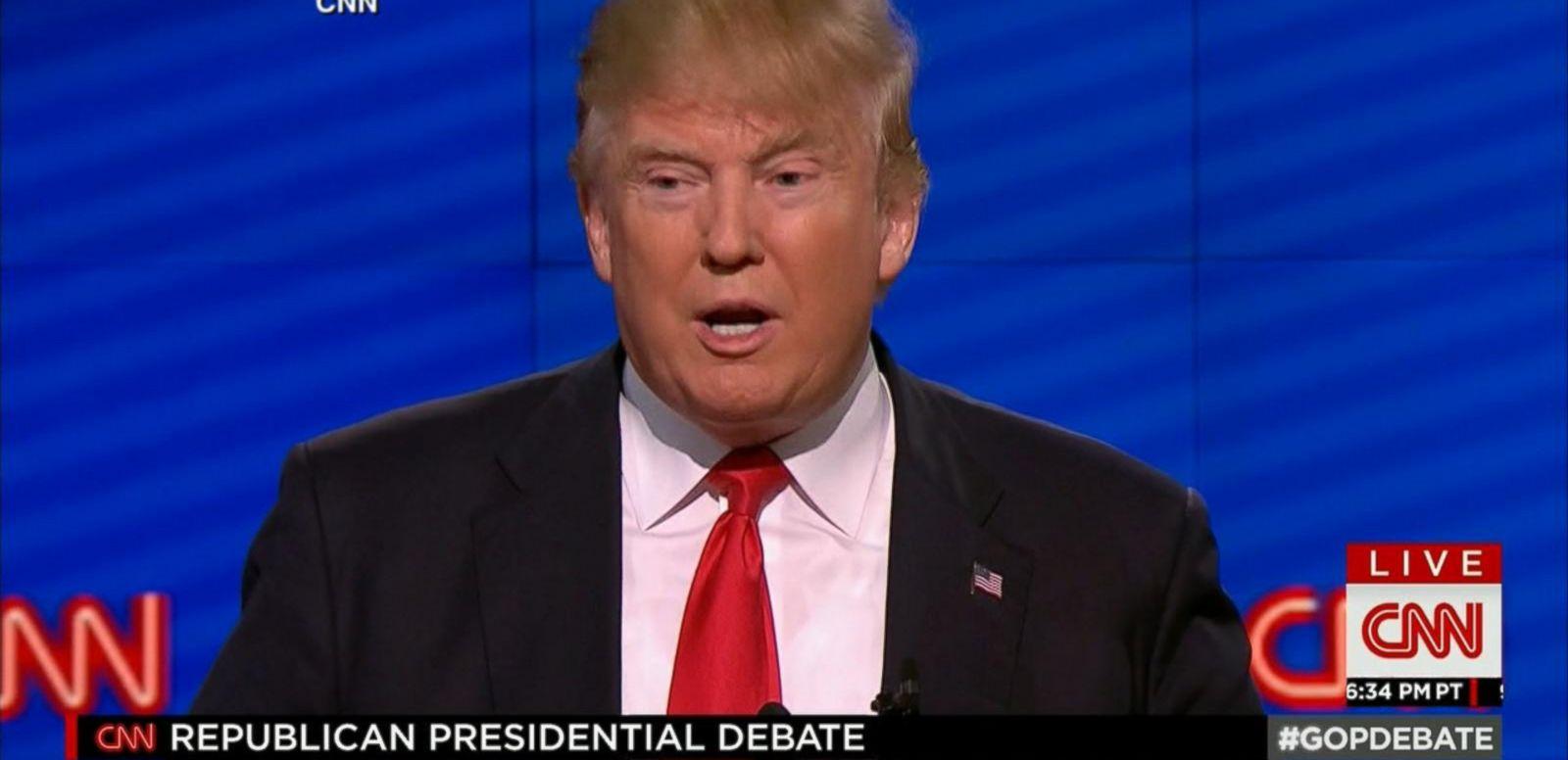 VIDEO: GOP Candidates Seem To Attack Trump Less In Recent Debate