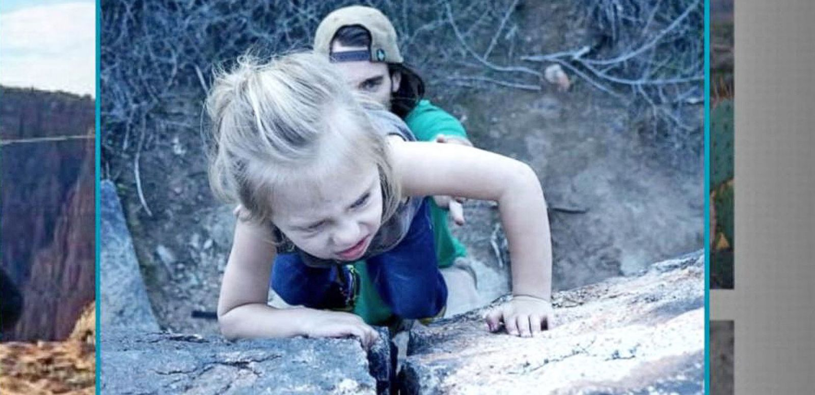 VIDEO: Amazing Toddler Showcases Rock Climbing Skills