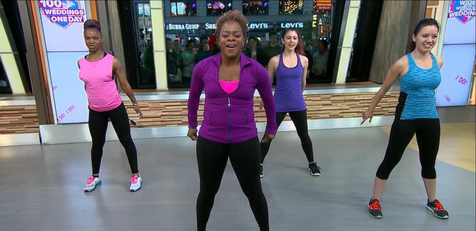 VIDEO: Bridal Bootcamp Workout Tips to Whip You Into Shape for the Big Day