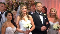 VIDEO: GMA Wide World of Weddings: 16 Couples Get Married Live in Times Square