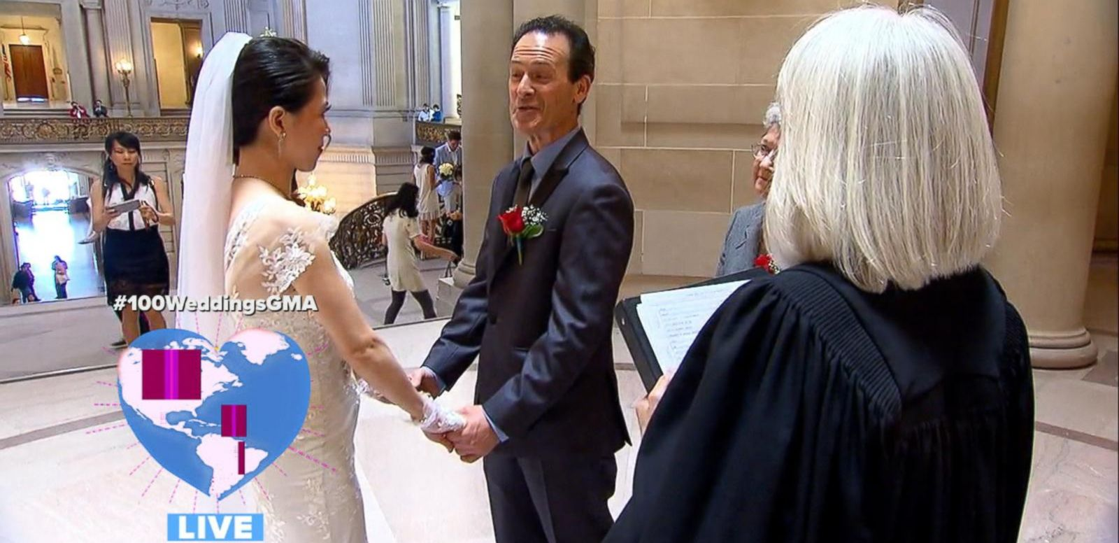 VIDEO: 'GMA' Wide World of Weddings: All the Best Moments From the 24-Hour Livestream
