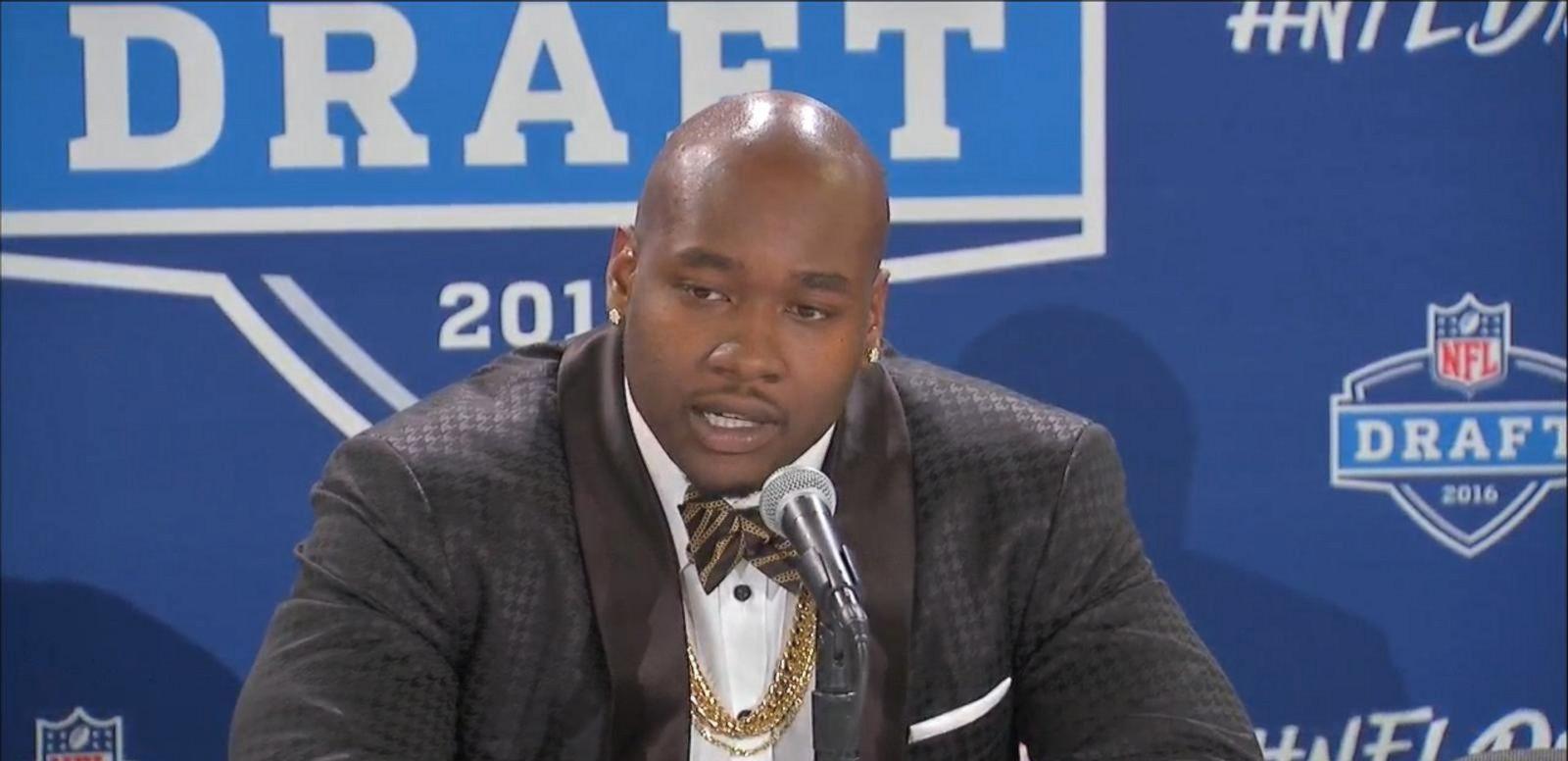 VIDEO: Football Star Drops in NFL Draft After Social Media Scandal