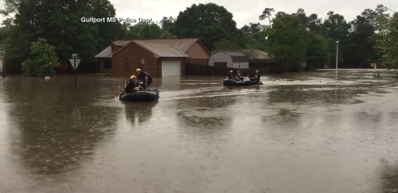 VIDEO: Severe Storms, Damaging Winds Hit Mississippi