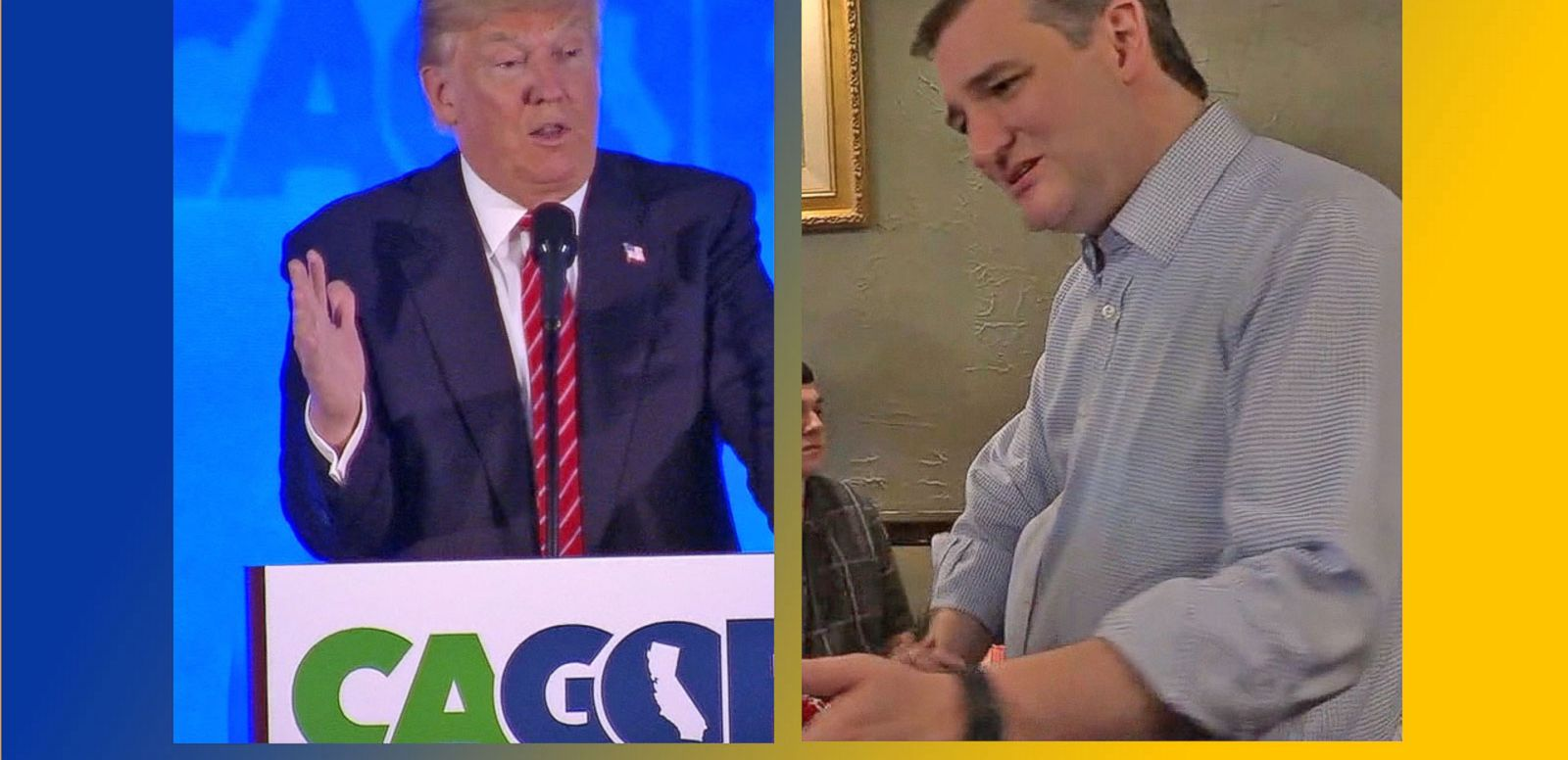 VIDEO: Presidential Candidates Campaign for Indiana Primary Vote