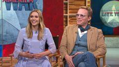 VIDEO: Captain America: Civil War: Elizabeth Olsen, Paul Bettany Visit GMA