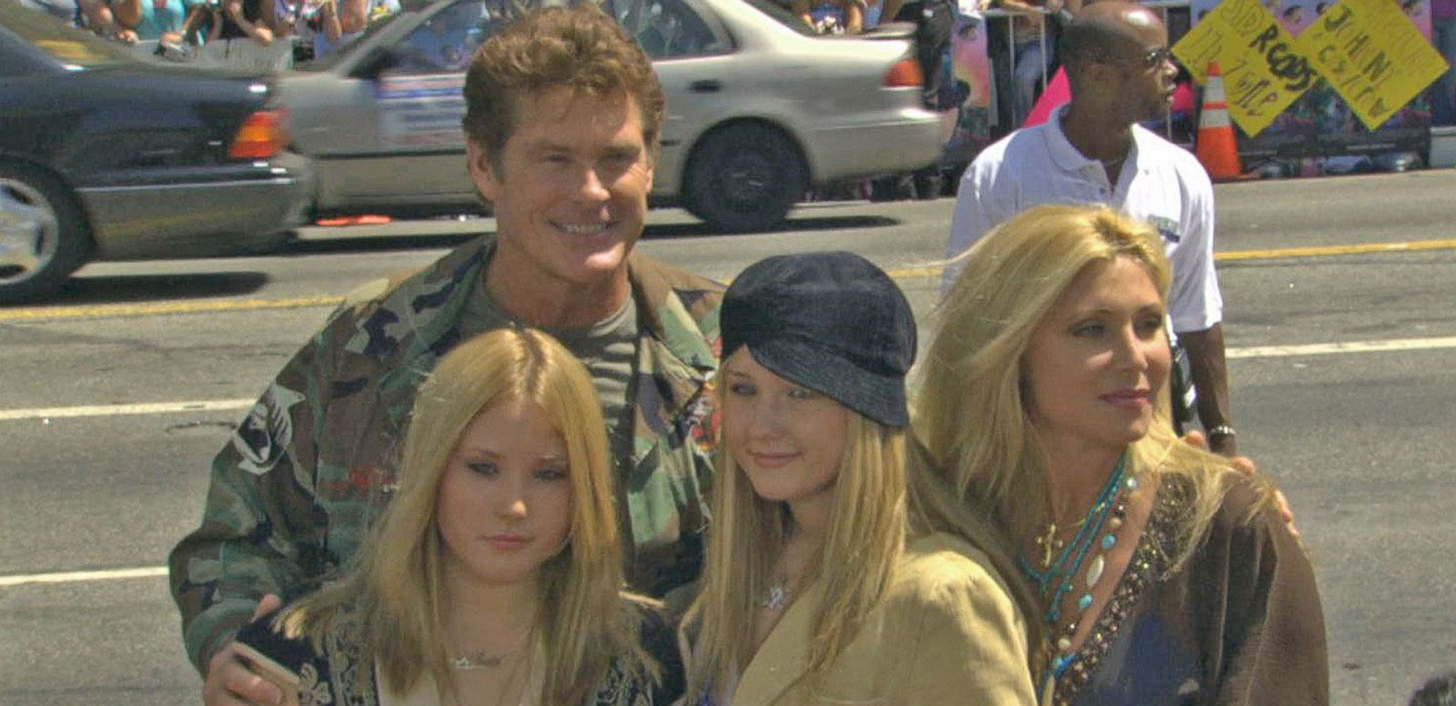 VIDEO: David Hasselhoff Reportedly Sinking in Alimony Payments
