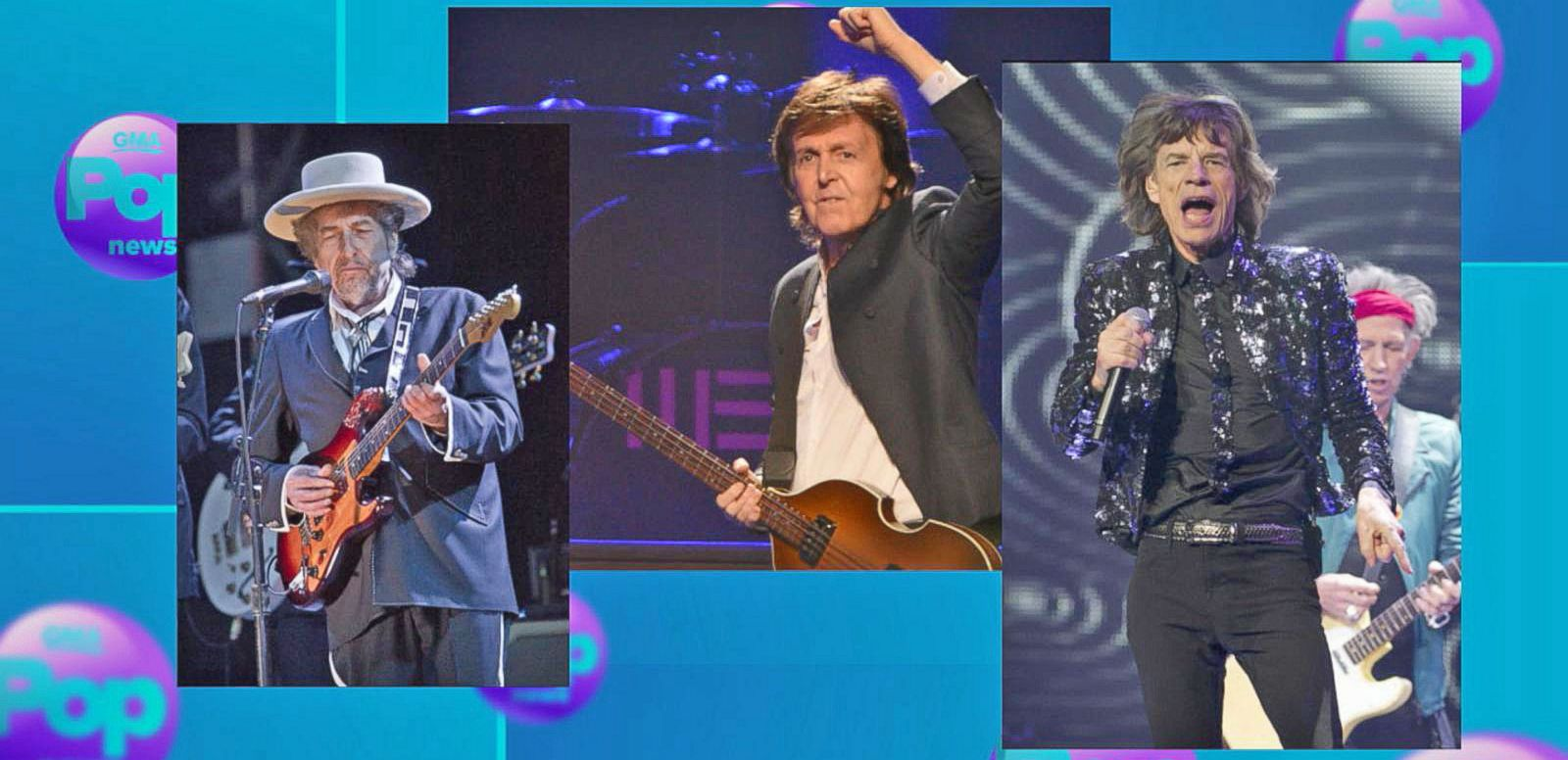 VIDEO: The Rolling Stones, Paul McCartney, Bob Dylan and More Come Together for Fall Concert
