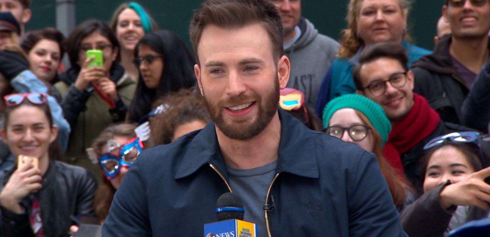 VIDEO: 'Captain America' Star Chris Evans Visits 'GMA'